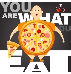 Obesity Concept vector image