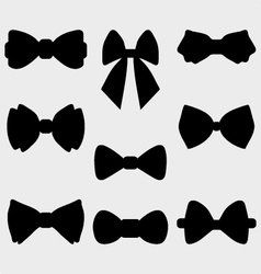 bow ties vector image