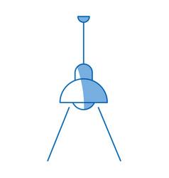 Pendant lamp or light electricity decoration vector