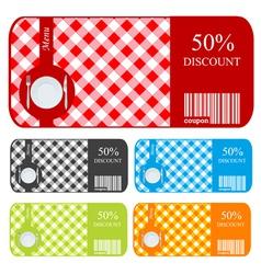 sale vouchers vector image