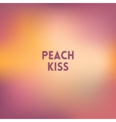 Square blurred background - peach colors with vector