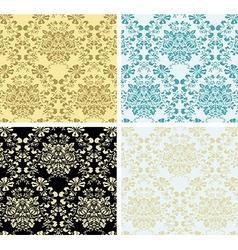 wallpaper set vector image vector image