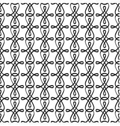 Decorative swirled elements pattern vector
