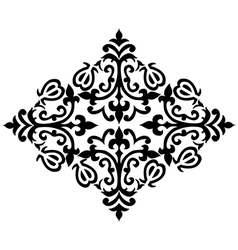 Antique ottoman turkish pattern design sixty two vector