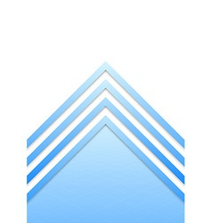 Blue border arrow lines background vector image vector image