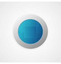 button vector image vector image