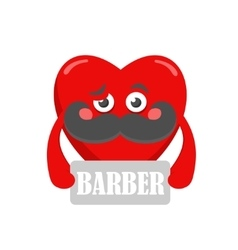 Babber heart vector