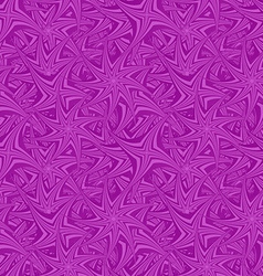 Purple seamless spin star pattern background vector