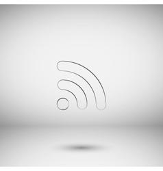 Wi-fi symbol icon vector
