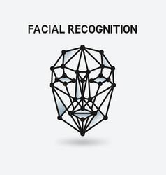 Facial recognition system 3d face vector