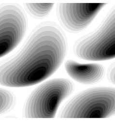 Seamless abstract black and white pattern vector image vector image