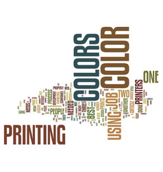 The numbers in colors text background word cloud vector