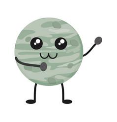 mercury planet icon vector image