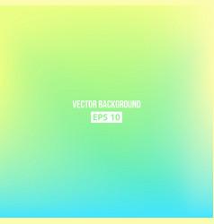 blue green yellow blur gradient vector image