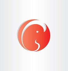 Embryo fetus icon design element vector