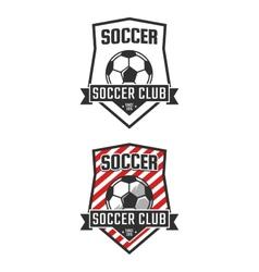 Soccer club vector image