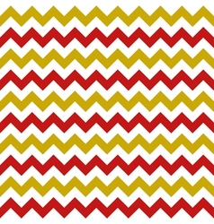 Christmas chevron seamless pattern vector