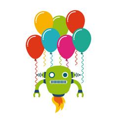 birthday party desig vector image