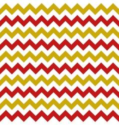 christmas chevron seamless pattern vector image vector image