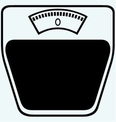 Icon scales vector image vector image