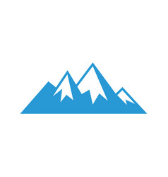 Mountain sign logo image image vector