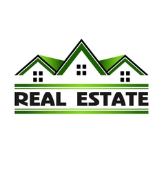 Real estate green vector