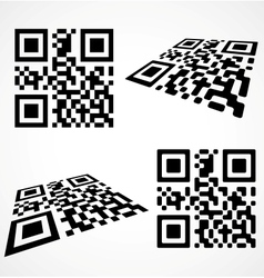 Simple qr code vector