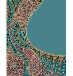 Ethnic pattern vector image