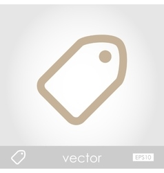 Tag icon vector