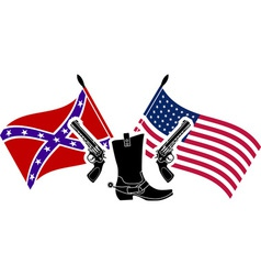 american civil war vector image