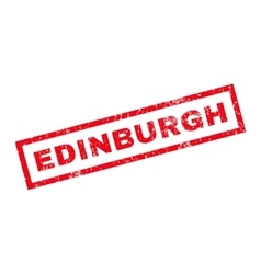 Edinburgh rubber stamp vector