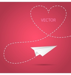Heartbackground vector