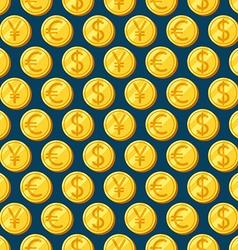 Money seamless patterns vector