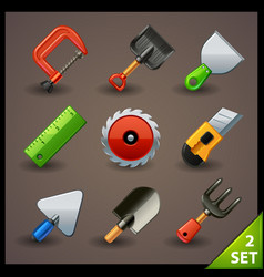 Tools icon set-2 vector