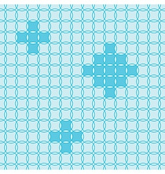 circle fun pattern vector image