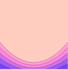 Abstract background from curved layers vector