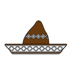 Beach hat vector