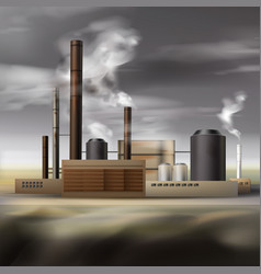 Chemical factory smoke vector