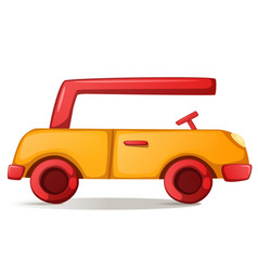 cute funny car vector image