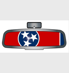 driving through tennessee vector image