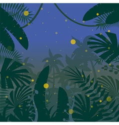 Jungle flat background17 vector