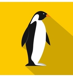 Penguin icon flat style vector