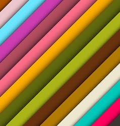 Abstract Retro Colorful Background vector image