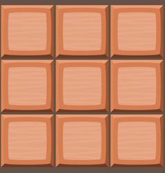 Cartoon hand drown orange seamless decorative vector