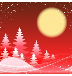 Christmas and new year festive red theme vector