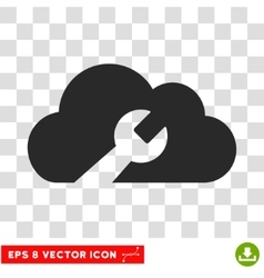 Cloud tools eps icon vector