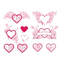 heart selection vector image vector image