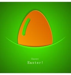 modern easter egg background Eps 10 vector image vector image