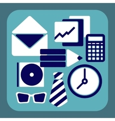 Office symbol vector image