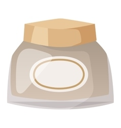 Cosmetics blank package box icon vector